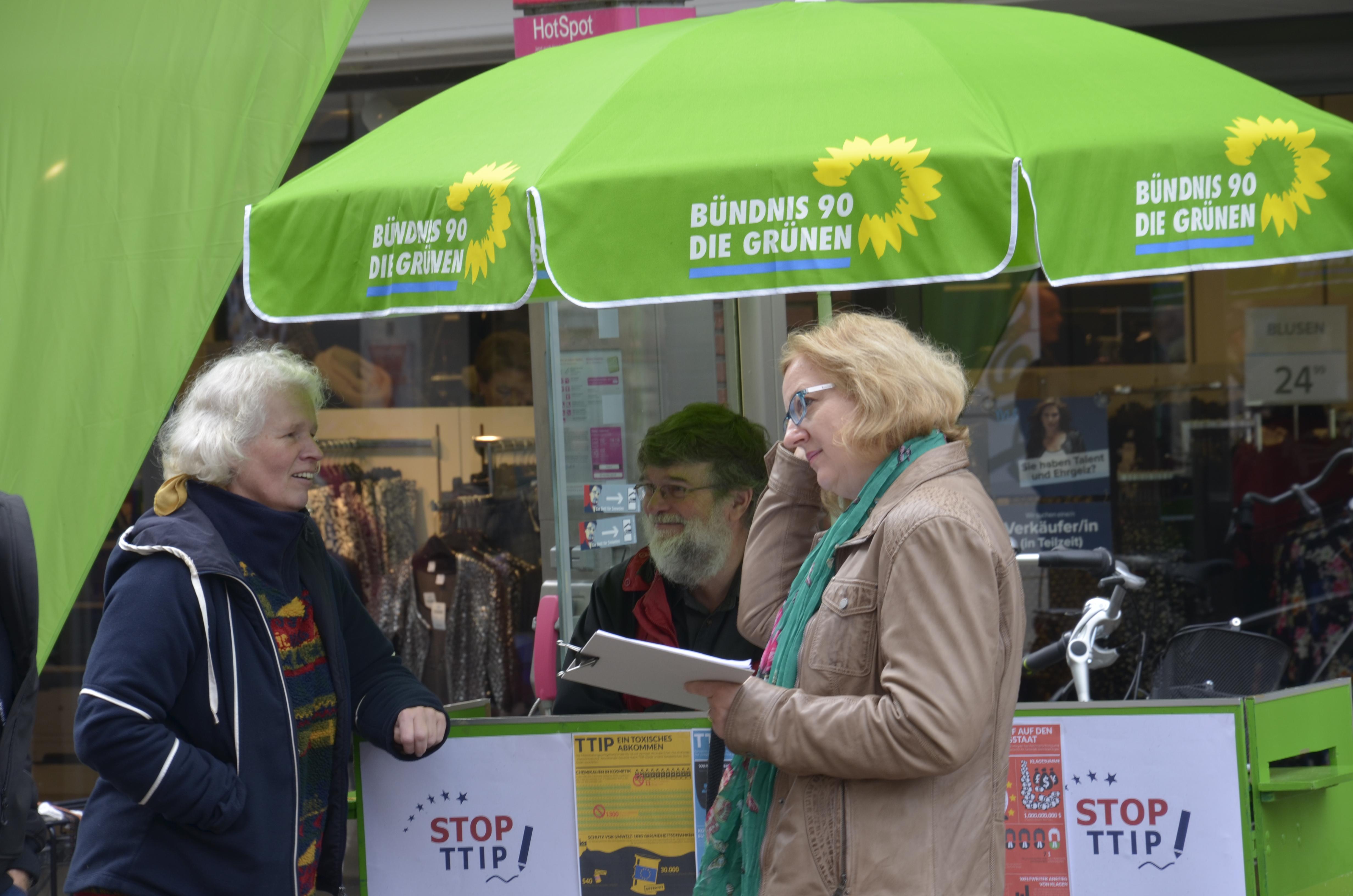 TTIP_Slow Food Bocholt unterstützt Bündnis gegen TTIP