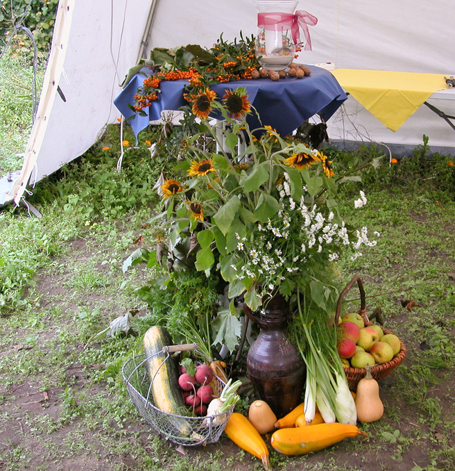 Tafelrunde Oktober mit Erntedank-Essen